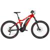 HAIBIKE SDURO FullSeven LT 10.0 E-MTB fullsuspension Herrer rød/sort
